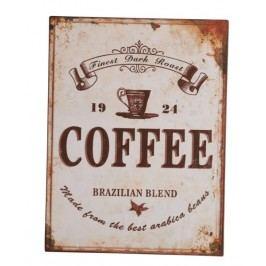 Ceduľa COFFEE - béžová