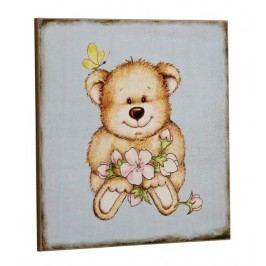 Ceduľa BLUE TEDDY BEAR - modrá