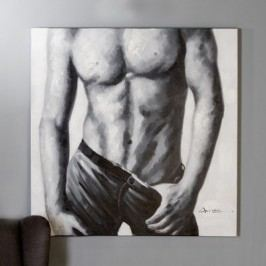 Obraz MAN - čierna