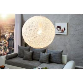 Závesná lampa COCOON M - biela