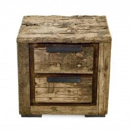 Nočný stolík THIRD 55 cm - prírodná