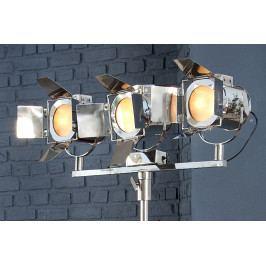 Bighome - Stojaca lampa LAX 185 cm - strieborná