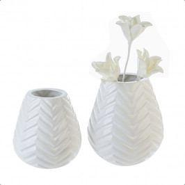 Bighome - Váza TOA SMALL - biela
