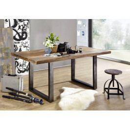 Bighome - IRON Jedálenský stôl 160x90 cm, mango, prírodná