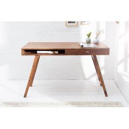 Bighome - Písací stôl METRO 120 cm - hnedá