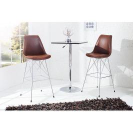 Bighome - Barová stolička SCANIA MEISTER ANTIK - hnedá