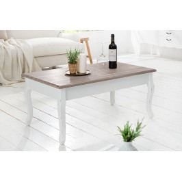 Bighome - Konferenčný stolík MAISEN 100 cm - biela