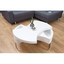 Bighome - Konferenčný stolík TURN ME - biela
