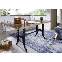 Bighome - INDUSTRY Jedálenský stôl Extra 180x90 cm, staré drevo