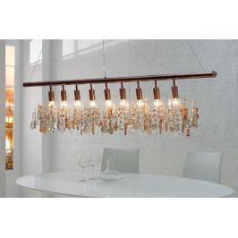 Bighome - Visiaca lampa DIAMANTS XL - medená