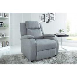 Bighome - Relaxačné kreslo BROADWAY - svetlá sivá