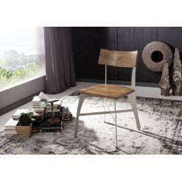 Bighome - PURE NATURE Stolička drevená, akácia