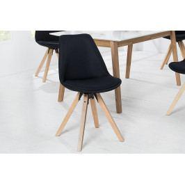 Bighome - Jedálenská stolička SCANIA - čierna