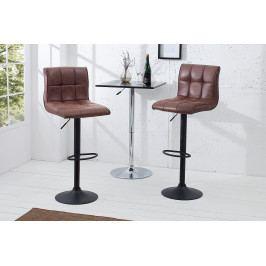 Bighome - Barová stolička MODERNA - hnedá