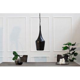 Bighome - Visiaca lampa MODERNA S - čierna, medená
