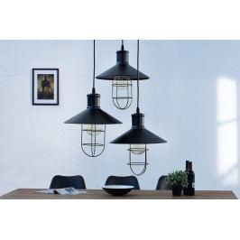Bighome - Visiaca lampa FACTOR - čierna