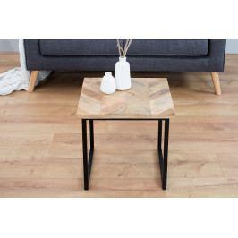 Bighome - Príručný stolík FUSO 45 cm - prírodná
