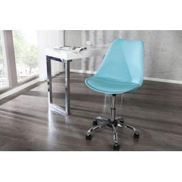 Bighome - Kancelárska stolička SCANIA MEISTER - tyrkysová