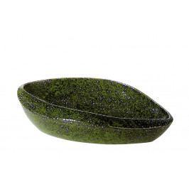 Bighome - Dekoratívny tanier 47 cm - zelená