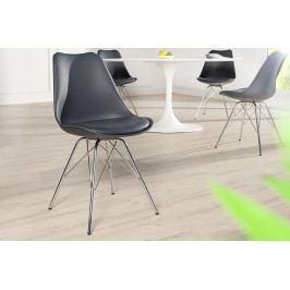 Bighome - Jedálenská stolička SCANIA RETRO - sivá