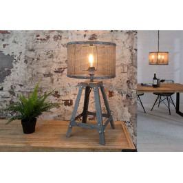 Bighome - Stolná lampa LEFT 60 cm - strieborná