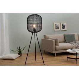 Bighome - Stojaca lampa CAGES 58 cm - čierna