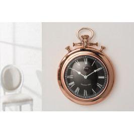 Bighome - Nástenné hodiny OLD TIMES 35 cm - medená II. akosť