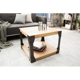 Bighome - Príručný stolík FACTOR 60 cm - prírodná
