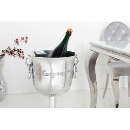 Bighome - Chladič na šampanské 75 cm  - strieborná