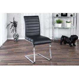 Bighome - Jedálenská stolička STUART - čierna II. akosť