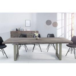 Bighome - Jedálenský stôl MAMAT 200 cm - sivá