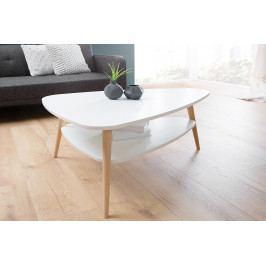 Bighome - Konferenčný stolík SKANDINAVIA 91 cm - biela