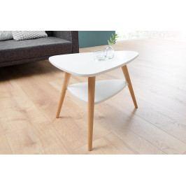 Bighome - Konferenčný stolík SKANDINAVIA 56 cm - biela