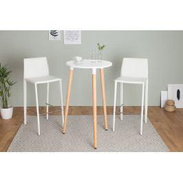 Bighome - Barový stôl SKANDINAVIA - biela