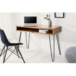 Bighome - Písací stôl MATIS 110 cm - prírodná