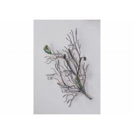 Bighome - DEKOR nástenný svietnik 61 cm, viacfarebná