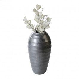 Bighome - Váza TEXAS 50 cm - šedá
