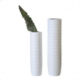 Bighome - Váza TENDRE 78 cm - biela