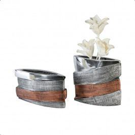 Bighome - Váza BAY 26 cm - viacfarebná