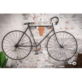 Bighome - Nástenný držiak na bicykel TAURUS - strieborná