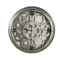 Bighome - Nástenné hodiny FOLT 60 cm - antracitová