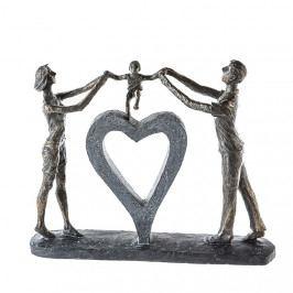 Bighome - Socha PERFECT LUCK 31 cm - bronzová