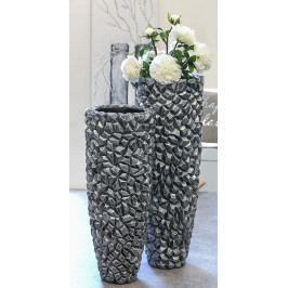 Bighome - Váza GRAVI 95 cm - sivá