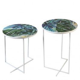 Bighome - Príručný stolík MIAMI 60 cm - viacfarebná