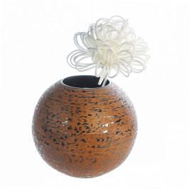 Bighome - Váza NAMIB 20 cm - hnedá