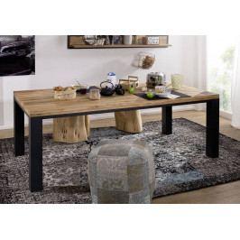 Bighome - TIROL Jedálenský stôl 260x100 cm, prírodná, dub