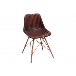Bighome - Stolička TORA - hnedá