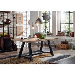 Bighome - INDUSTRY Jedálenský stôl 140x90 cm, staré drevo