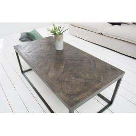Bighome - Konferenčný stolík INFAN 120 cm - šedá