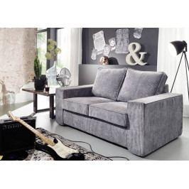 Bighome - LIDO sedačka 160 cm, sivá
